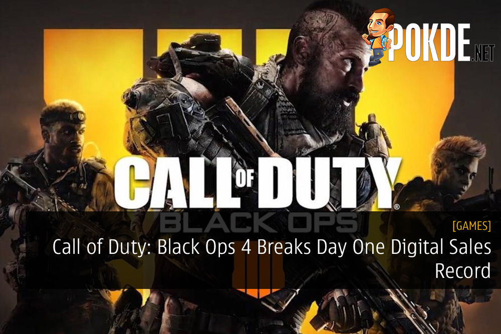 Call of Duty: Black Ops 4 Breaks Day One Digital Sales Record