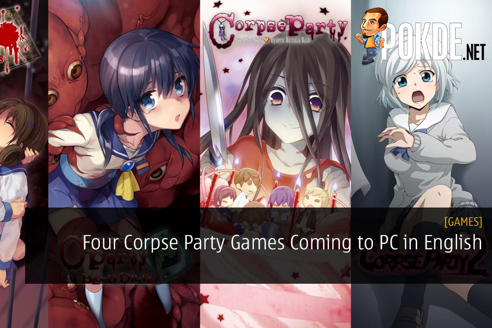 Four Corpse Party Games Coming to PC in English