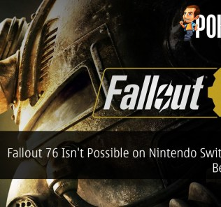 Fallout 76 Isn't Possible on Nintendo Switch Says Bethesda
