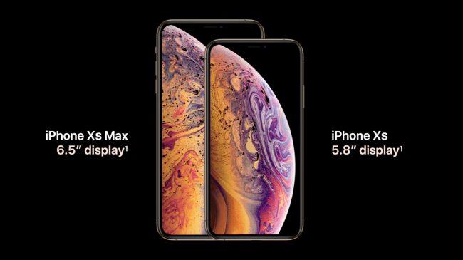 iPhone XS and XS Max Super Retina Displays