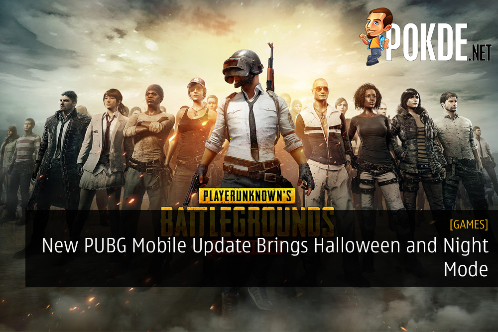 New PUBG Mobile Update Brings Halloween and Night Mode – Pokde