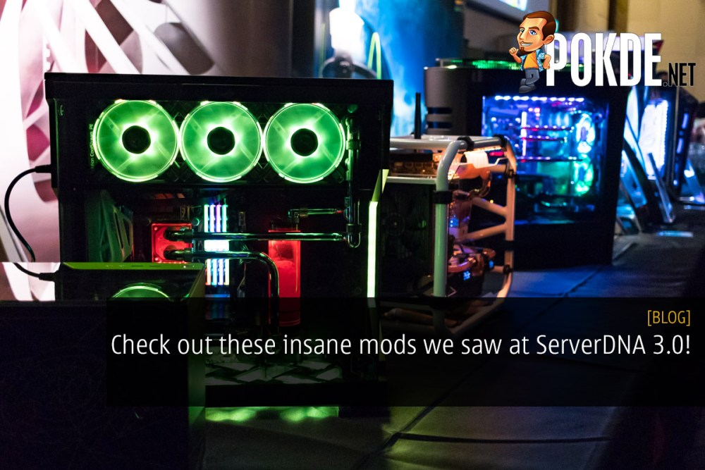 Check out these insane mods we saw at ServerDNA 3.0! 32