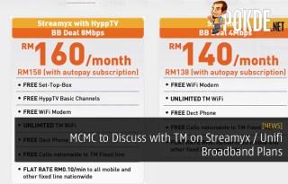 MCMC to Discuss with TM on Streamyx / Unifi Broadband Plans