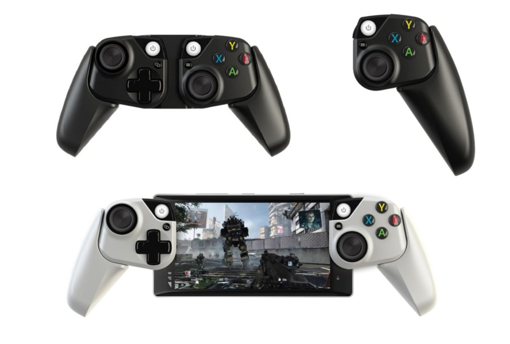 Microsoft Makes Prototype Xbox Controllers for Smartphones