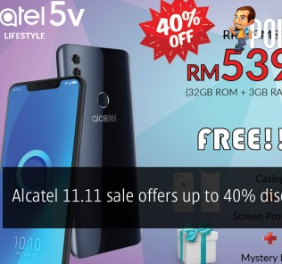 Alcatel 11.11 sale offers up to 40% discounts! 23