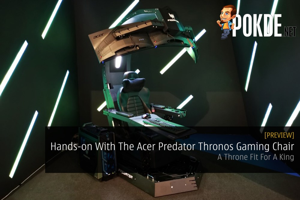 Astonishing Hands On With The Acer Predator Thronos Gaming Chair A Uwap Interior Chair Design Uwaporg