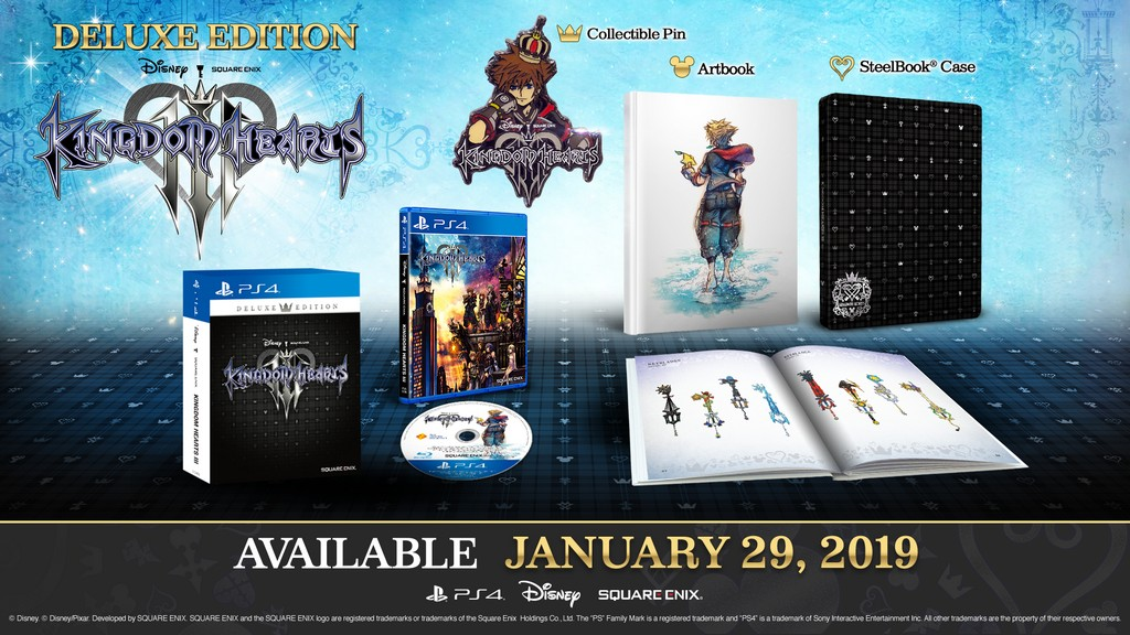 Kingdom Hearts 3 Malaysia Release Date and Prices Officially Revealed
