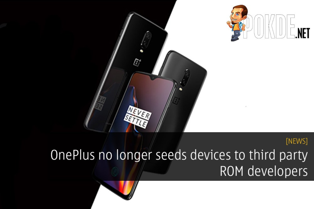 OnePlus no longer seeds devices to third party ROM developers 26