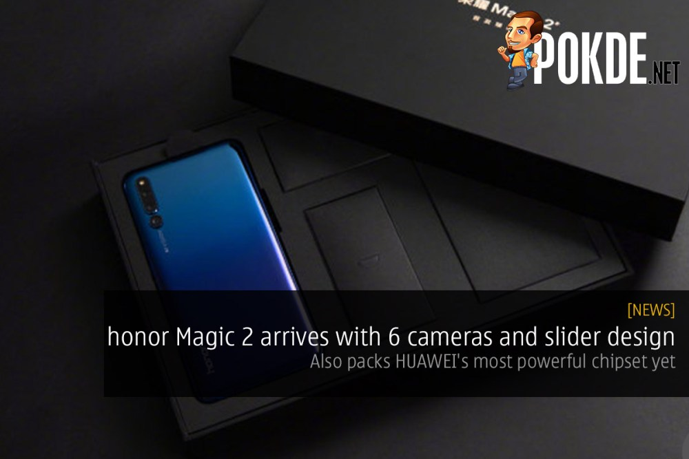 honor Magic 2 arrives with 6 cameras and slider design — also packs HUAWEI's most powerful chipset yet 16