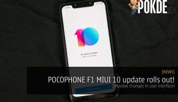 You can now hide the notch on your POCOPHONE F1 running
