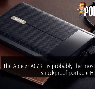 The Apacer AC731 is probably the most stylish shockproof portable HDD ever 23