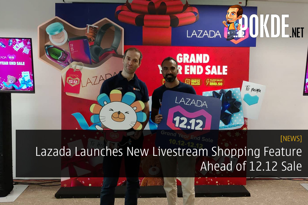 Lazada Launches New Livestream Shopping Feature Ahead of 12.12 Sale