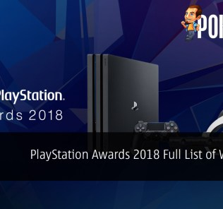 PlayStation Awards 2018 Full List of Winners