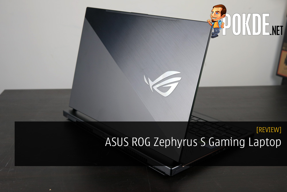 ASUS ROG Zephyrus S Gaming Laptop Review - It Sounds Bigger