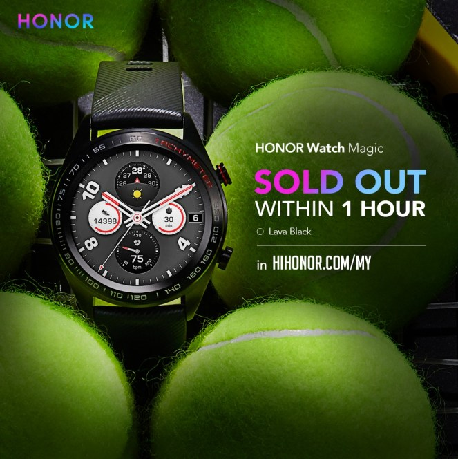 HONOR Watch Magic Sold Out In Just One Hour of Its Launch