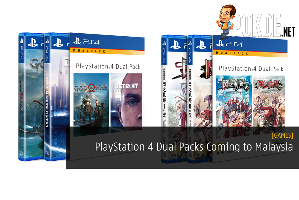 PlayStation 4 Dual Packs Coming to Malaysia - Two Awesome Games For the Price of One