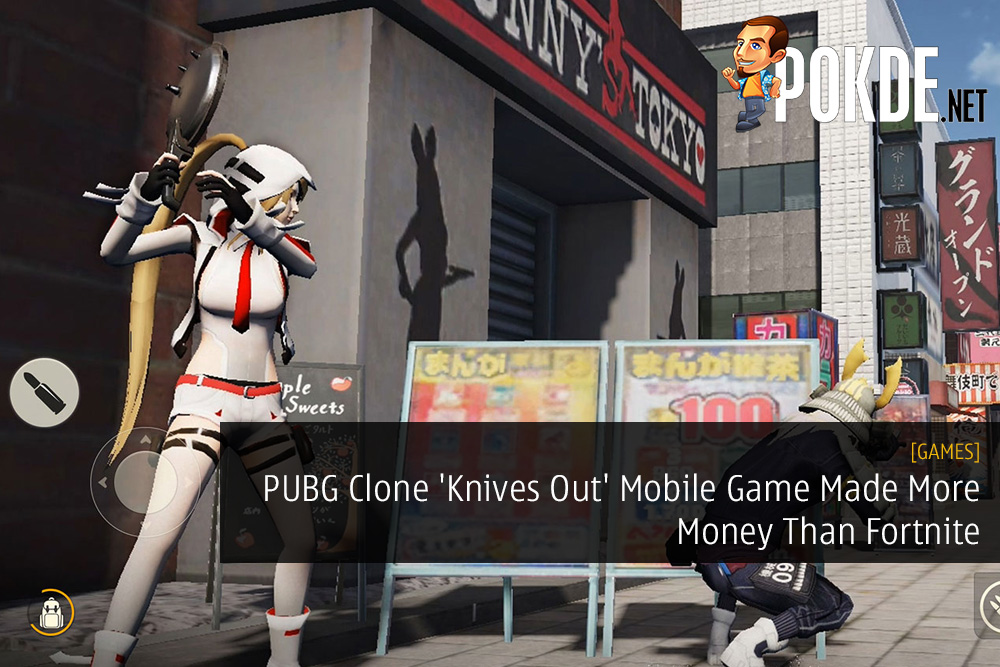 PUBG Clone 'Knives Out' Mobile Game Made More Money Than Fortnite