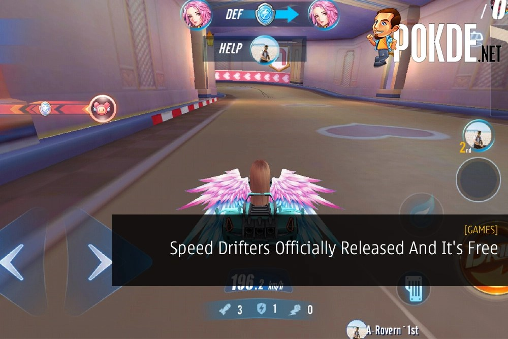 The hottest mobile racing game from China has officially made its way to Southeast Asia. It's Speed Drifters and it's free.