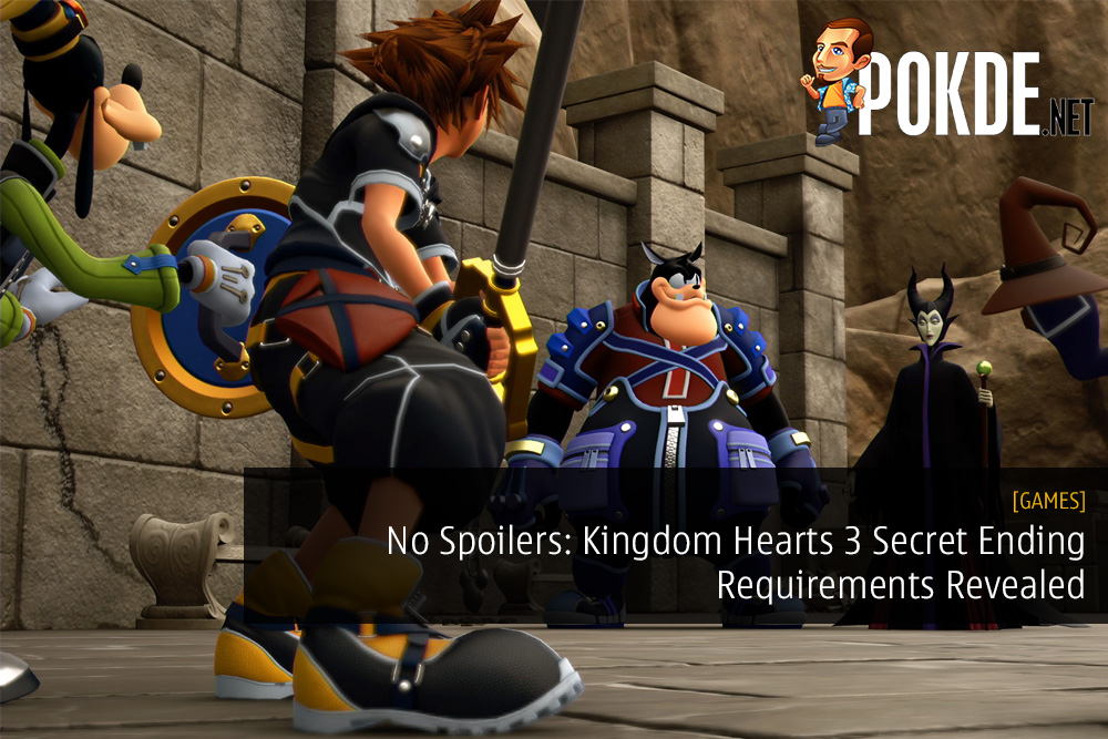 No Spoilers: Kingdom Hearts 3 Secret Ending Requirements Revealed