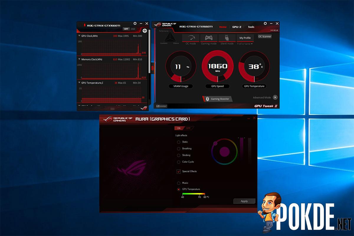 ASUS ROG Strix GeForce GTX 1660 Ti OC Edition 6GB GDRR6