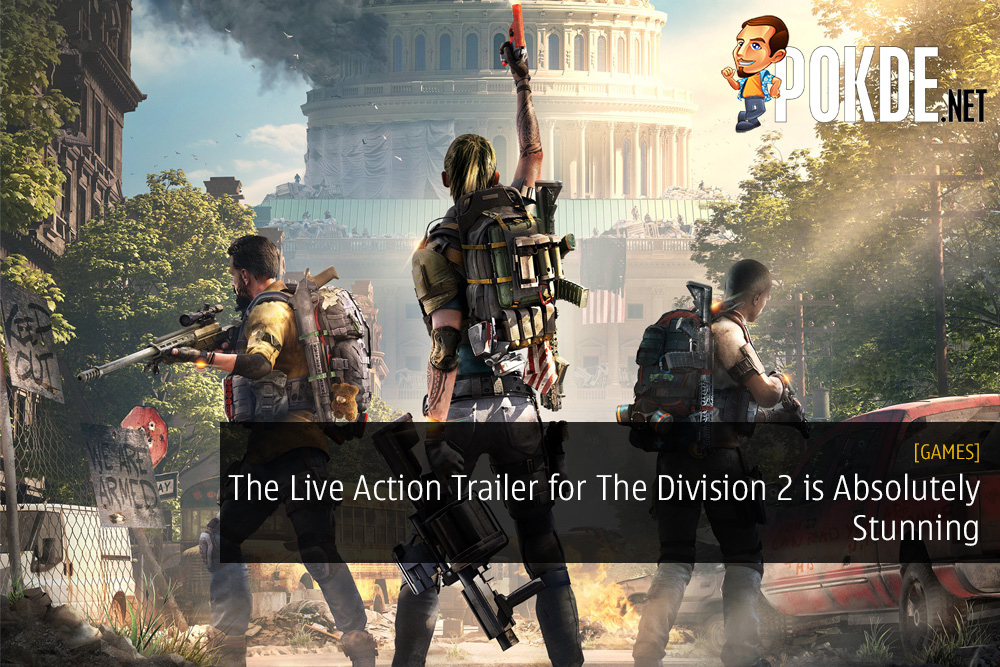 The Live Action Trailer for The Division 2 is Absolutely Stunning