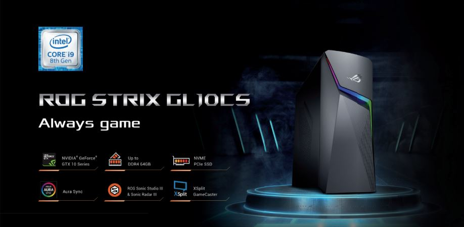 ASUS Malaysia Launches ROG STRIX GL10CS