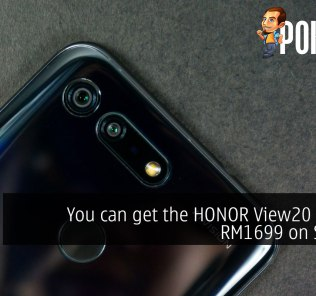 You can get the HONOR View20 for just RM1699 on Shopee 40