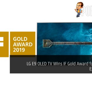 LG E9 OLED TV Wins iF Gold Award for Design Excellence