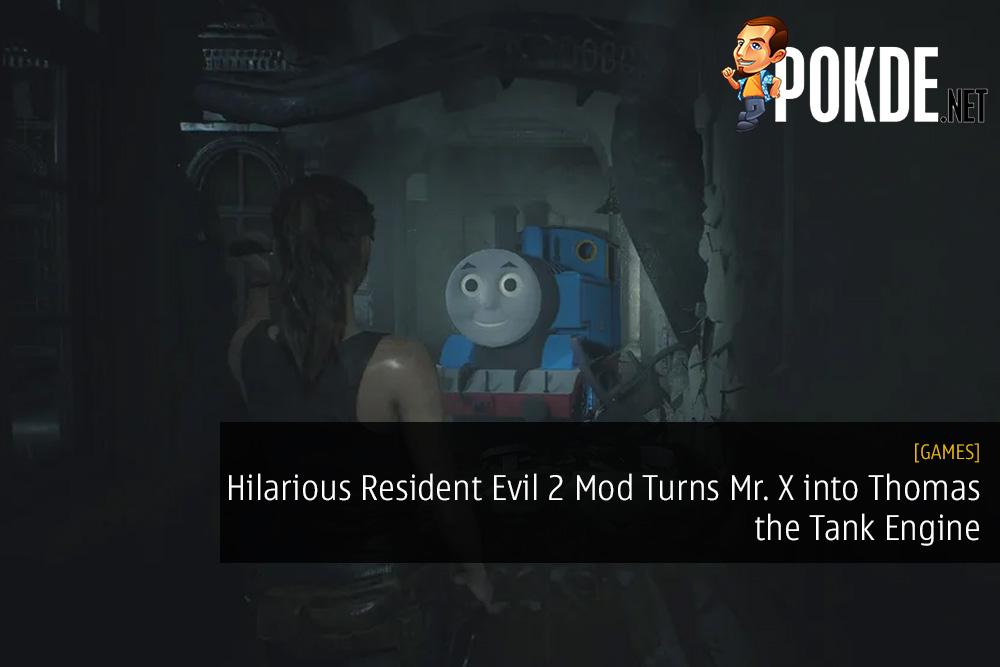 Hilarious Resident Evil 2 Mod Turns Mr. X into Thomas the Tank Engine