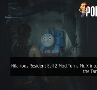 Hilarious Resident Evil 2 Mod Turns Mr. X into Thomas the Tank Engine