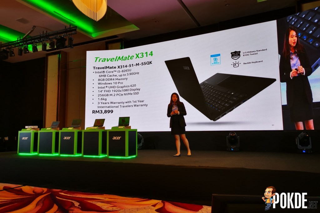 Acer Malaysia Launches New TravelMate Laptops for Businesses and Professionals