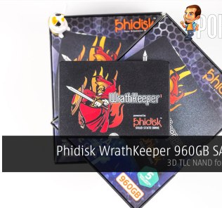 Phidisk WrathKeeper 960GB SATA SSD review — 3D TLC NAND for everyone! 25