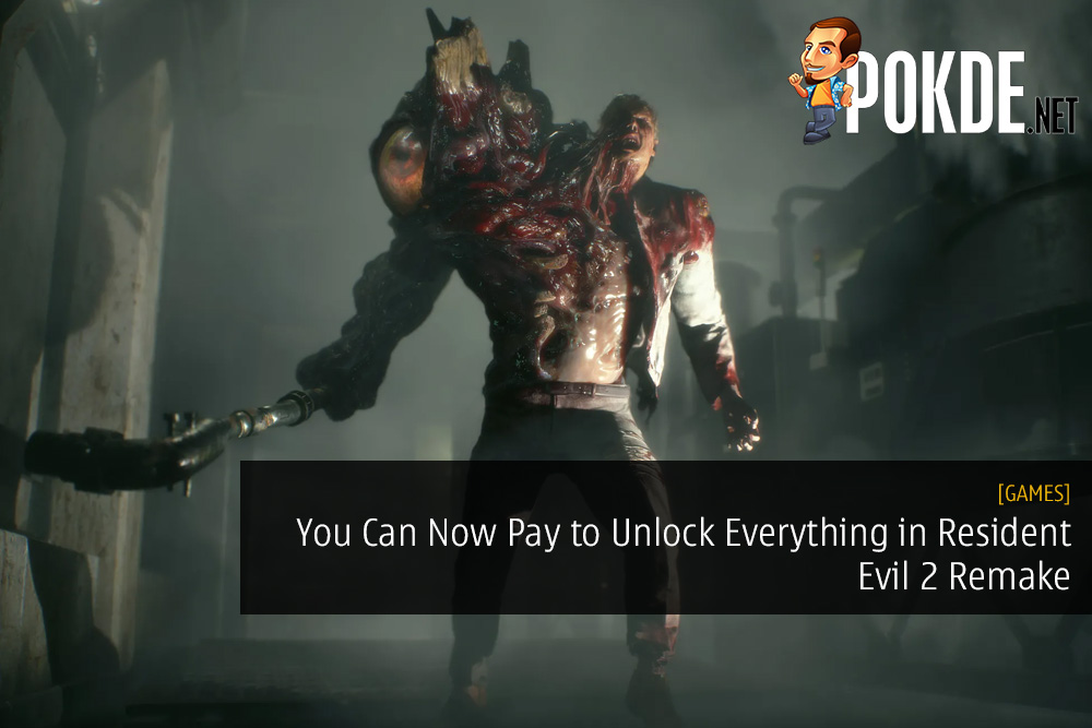 You Can Now Pay to Unlock Everything in Resident Evil 2 Remake