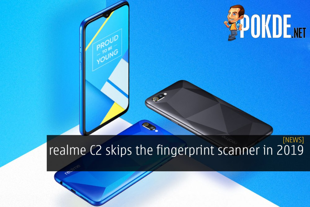 realme C2 skips the fingerprint scanner in 2019 – Pokde
