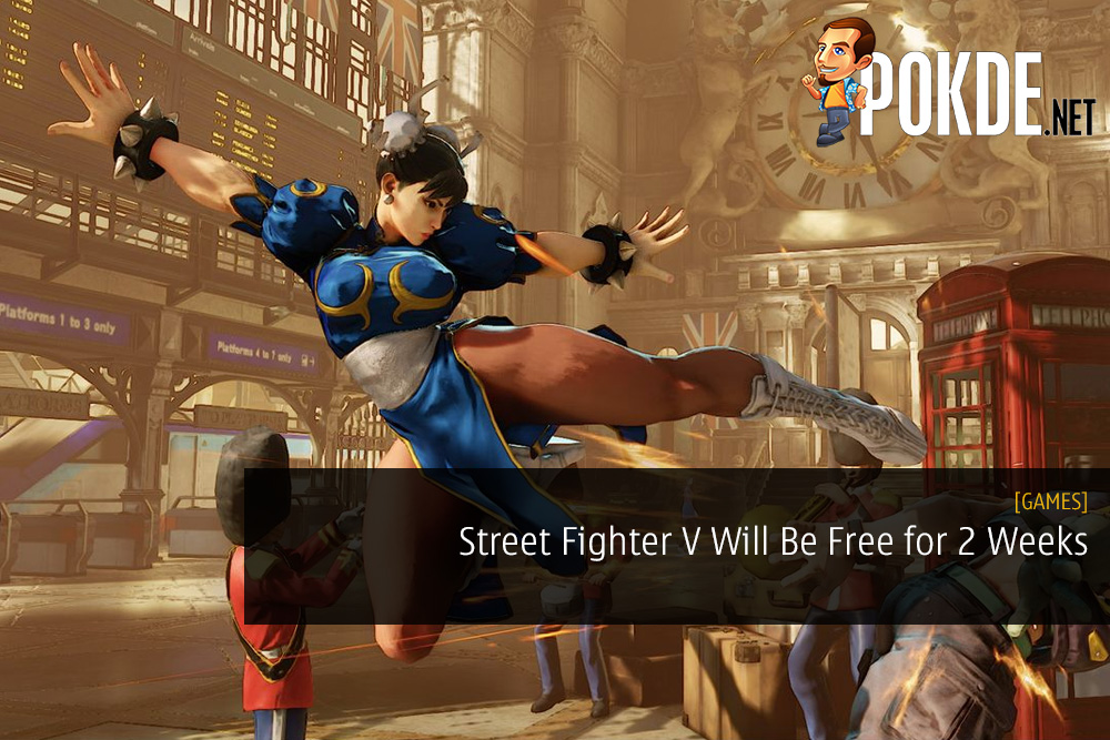 Street Fighter V Will Be Free for Two Weeks Including Four DLC Characters