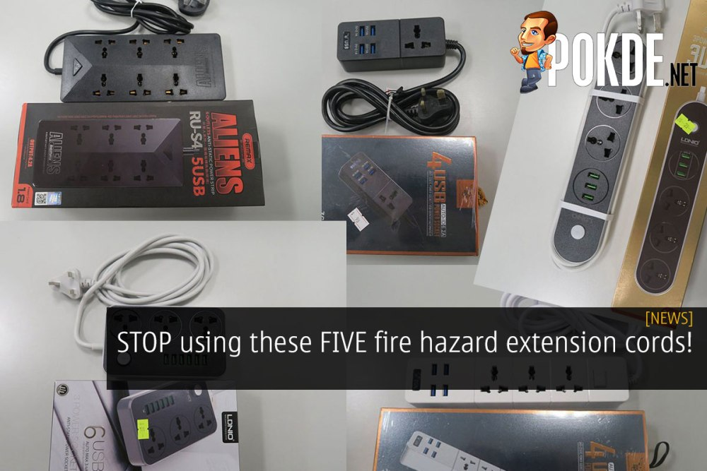 STOP using these five fire hazard extension cords! 23