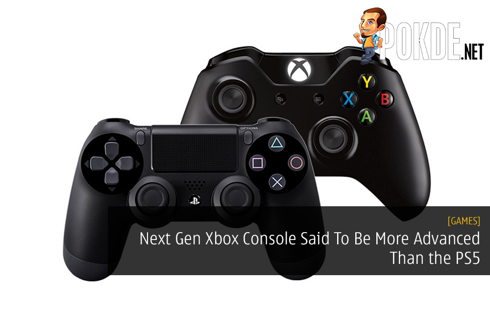 Next Gen Xbox Console Said To Be More Advanced Than the PlayStation 5