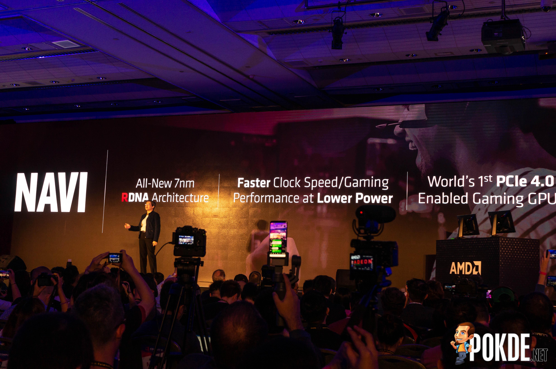 Computex 2019] AMD Radeon RX 5700 to feature AMD Navi with RDNA – Pokde