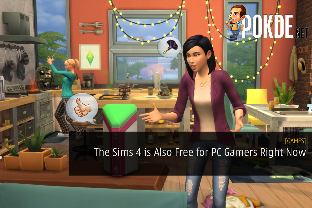 The Sims 4 is Also Free for PC Gamers Right Now