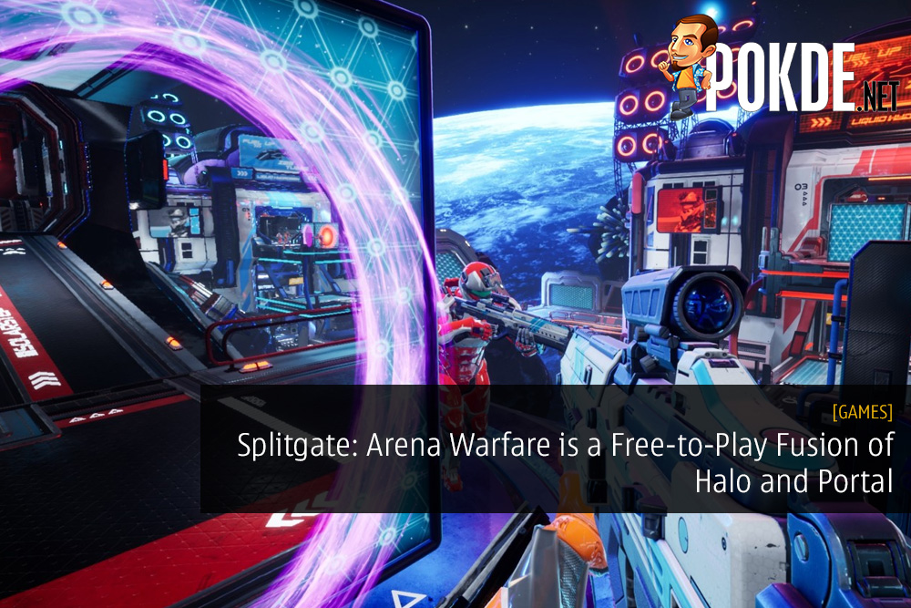 Splitgate: Arena Warfare is a Free-to-Play Fusion of Halo and Portal