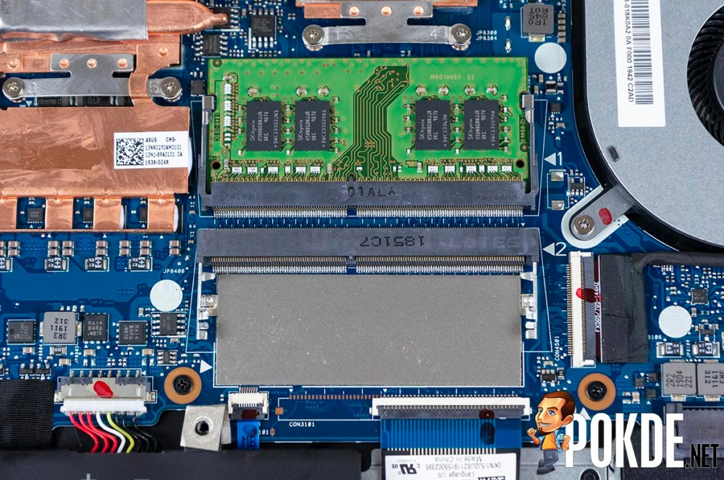 What can you upgrade in the ASUS TUF Gaming FX505D? 28