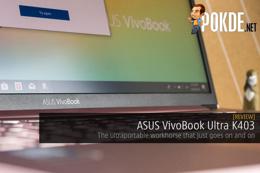 ASUS VivoBook Ultra K403 Review — the ultraportable
