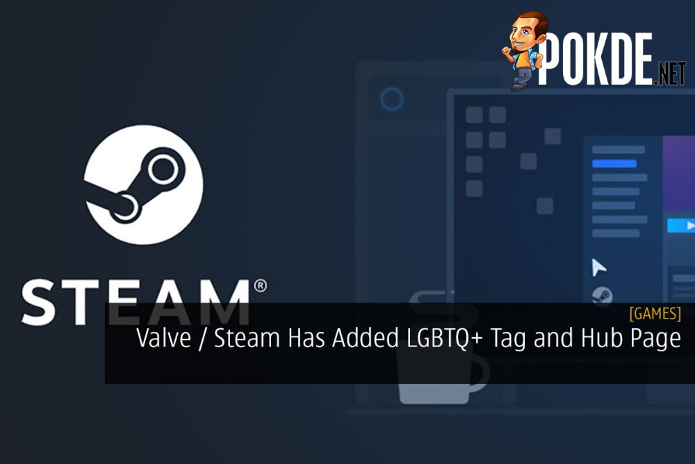 Valve / Steam Has Added LGBTQ+ Tag and Hub Page