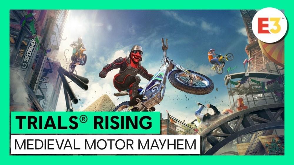 [E3 2019] Trials Rising Season 2: Medieval Motor Mayhem Launched