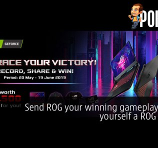 Send ROG your winning gameplay to win yourself a ROG Strix G! 30