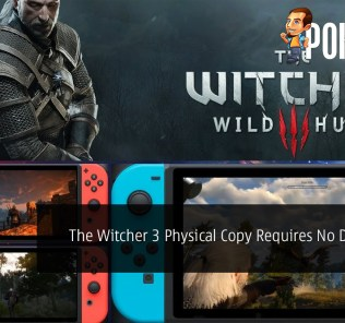 The Witcher 3: Wild Hunt Nintendo Switch Physical Copy Requires No Download