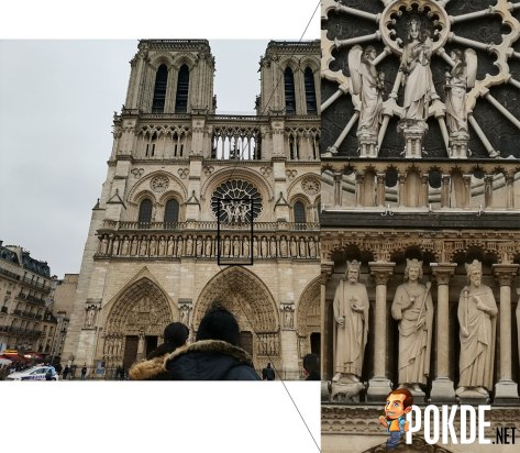 The Notre Dame before the tragedy...