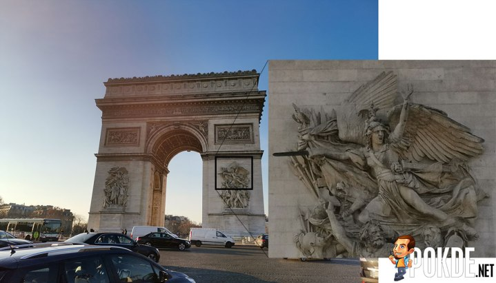 Awesome details on the Arc de Triomphe!