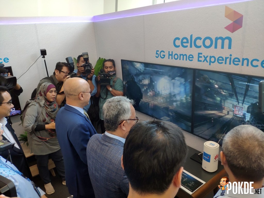 Celcom Showcase Malaysia's First 5G Live Cluster Field Trial 25
