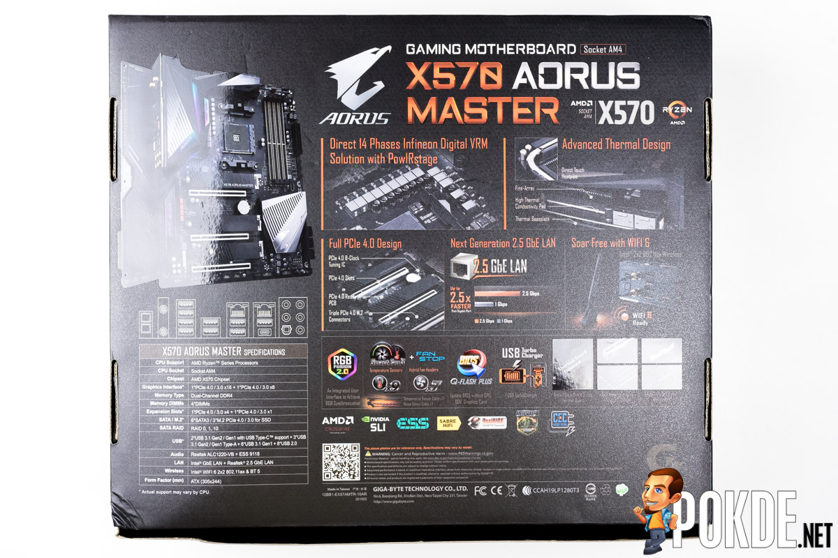 GIGABYTE X570 AORUS Master Review — the board that puts its